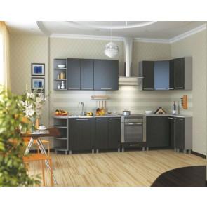 Анна Кухня 3,0м+1,5м Венге