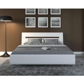 Azteca Кровать 180 Белый Блеск