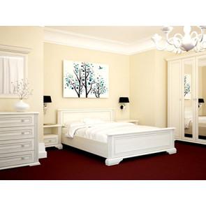 Вайт Модульная Спальня Uno Серебряная Сосна