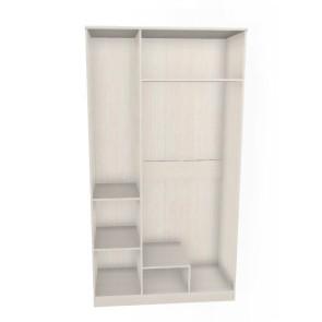 Грация Шкаф 3Д С Одной Зеркальной Дверью  СБ 2197
