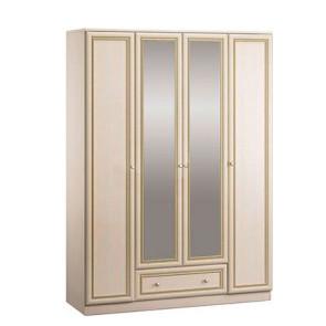Грация Шкаф 4Д С Двумя Зеркальными Дверьми СБ-2198