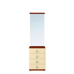 Гретта Тумба С Зеркалом СБ-966 Клён