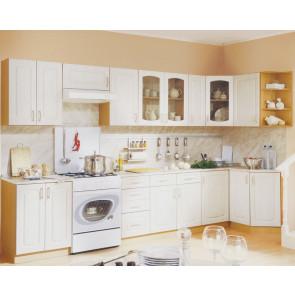 Оля Кухня Угловая 3,3м+1,4м Береза Роксан