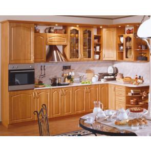 Оля Кухня Угловая 3,3м+1,6м Ольха