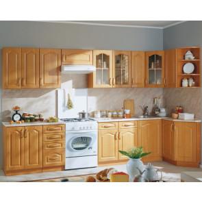 Оля Кухня Угловая 3,3м+1,4м Ольха
