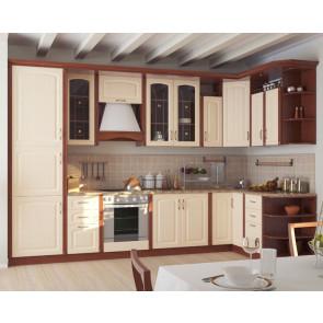 Регина Кухня Угловая 3,3м+1,6м Бежевый