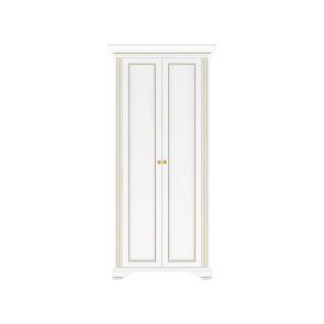 Вайт Шкаф 2Д Золото, Ясень Снежный